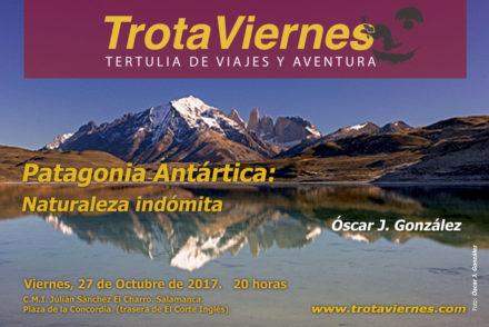 Patagonía antártica. Naturaleza indómita