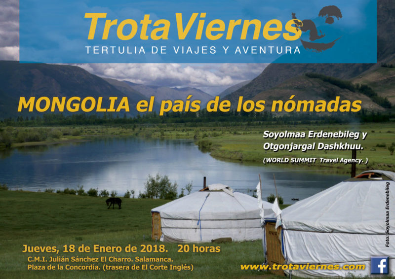 MONGOLIA el país de los nómadas.