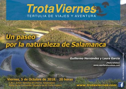 Un Paseo por la naturaleza de Salamanca.