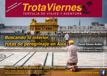 Buscando lo interior: rutas de peregrinaje en Asia.