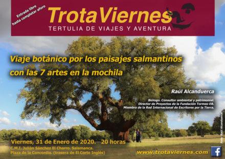 Viaje botánico por los paisajes salmantinos con las 7 artes en la mochila.
