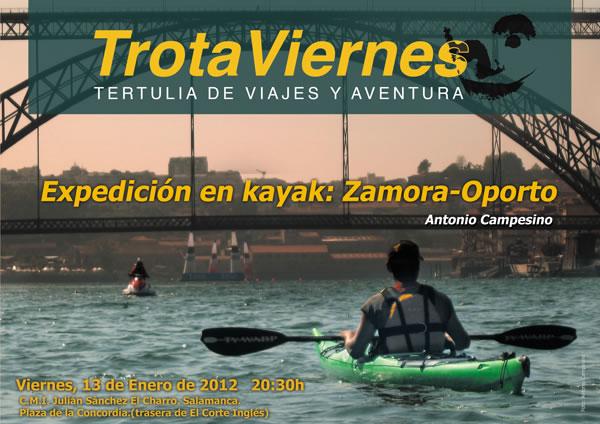 Expedición en kayak: Zamora – Oporto