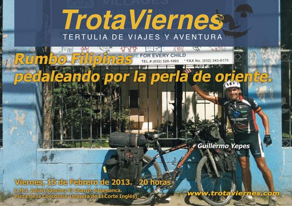 """Rumbo Filipinas: pedaleando por la perla de Oriente. Por Guillermo Yepes Terminado el proyecto de """"la vuelta al mundo en bicicleta"""", y de estar los últimos 5 años recorriendo los […]"""