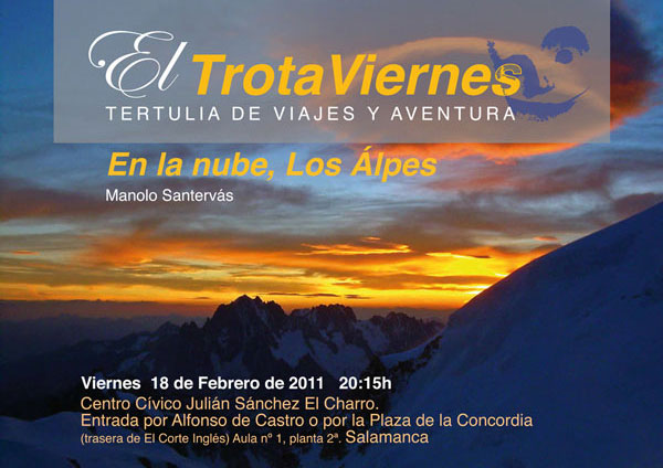 En la nube, Los Alpes  Por Manolo Santervás Los Alpes, no es la cordillera más alta de Europa, pero sí la más famosa. Esta fama le viene por ser […]