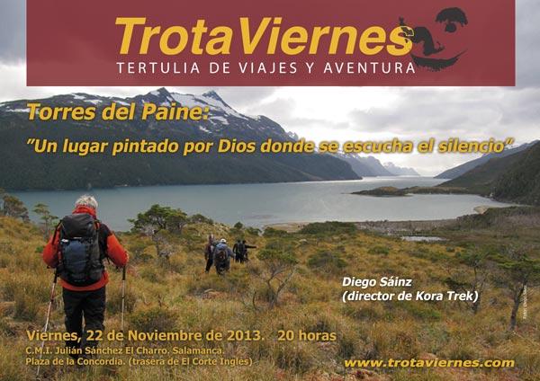 Torres del Paine: Un lugar pintado por Dios donde se escucha el silencio. Por Diego Sáinz (director de Kora Treck) He visto las afiladas agujas de los Alpes Franceses, los […]