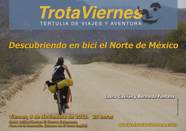 Descubriendo en bici el Norte de México.  Por Gerardo Sánchez-Granjel y Yolanda Moralejo Berni había oído algo de las zonas por las que queríamos viajar y de alguna manera […]