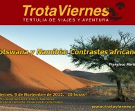 Botswana y Namibia: contrastes africanos.  Por Francisco Martín El viaje, minuciosamente planificado y diseñado como una ambiciosa ruta circular, partió desde Windhoek, la capital de Namibia, hacia el Okavango […]