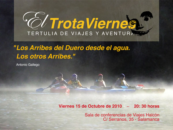 """""""Los Arribes del Duero desde el agua.""""Los otros Arribes""""  Por Antonio Gallego Los Arribes del Duero son uno de los cañones más largos y formidables de la Península, abismos […]"""