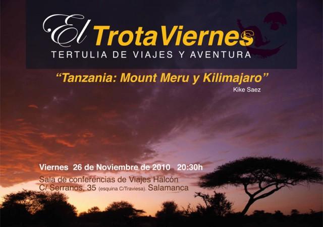 """""""El Kilimanjaro es una montaña cubierta de nieve de 5895 metros de altura, y dicen que es la más alta de África. Su nombre es, en masai, «Ngáje Ngái», «la […]"""
